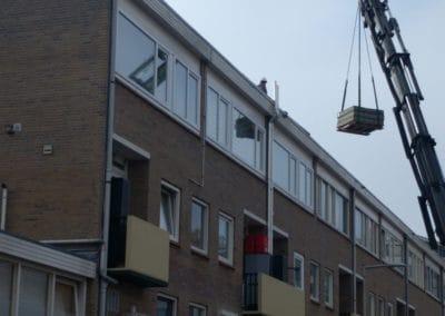 1105-lossen panelen en verzwaring L.Schottingstraat